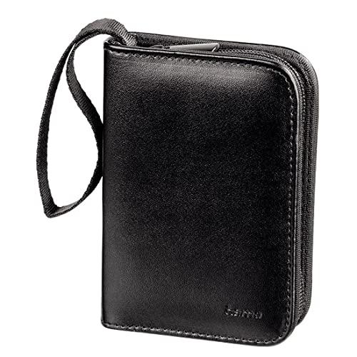 Hama Speicherkarten-Tasche für 18 SD-/MMC-Speichermedien, Schwarz