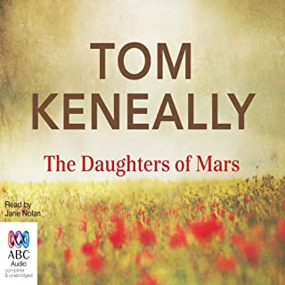 The Daughters of Mars audiobook cover art