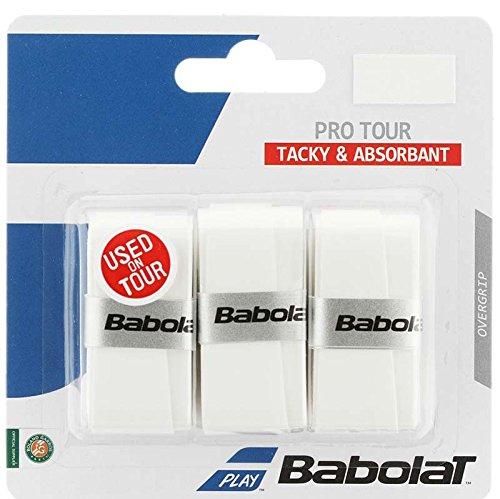 Babolat Pro Tour X3 Accesorio Raqueta de Tenis, Unisex Adulto, Blanco, Talla...