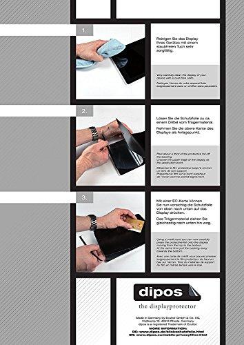 dipos I Blickschutzfolie matt kompatibel mit Cyrus CYR10090 CS35 Sichtschutz-Folie Bildschirm-Schutzfolie Privacy-Filter