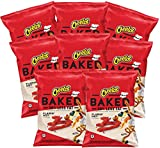 Baked Cheetos Flamin' Hot Flavor Cheese Snacks, 1.5 ounce (Pack of 8)