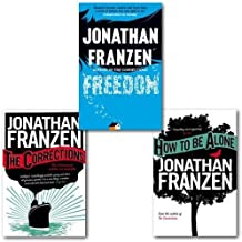 Jonathan Franzen Collection 3 Books (How to be Alone, The Corrections and Freedom)