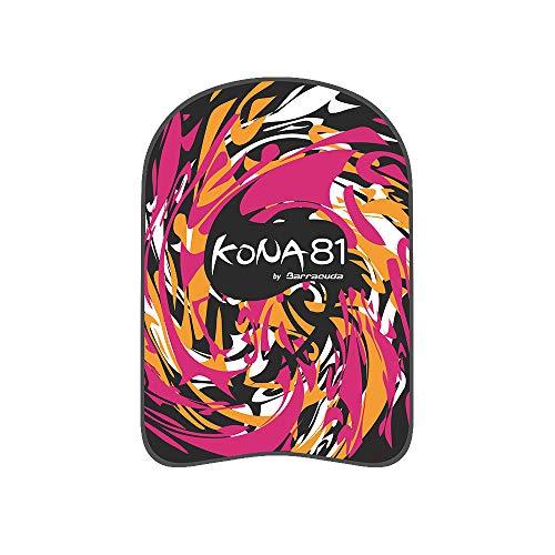 KONA81 Plancha de Natación AQUAGRAFFITI Kickboard - Ayuda para el Entrenamiento de Natación, EVA, Boya Flotante, para Adultos y Adolescentes (Rosa Naranja)