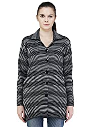 Montrex Gray Color Stylish Women Cardigans