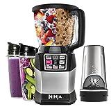 Ninja bl942 Nutri Ninja Auto-iQ Compact Blending System (BL492), New, Clear