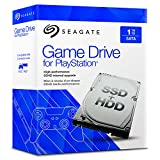 Seagate Game Drive - Disco duro interno para PlayStation, 1TB // 8GB SSHD , (STBD1000101), 2,5', SATA