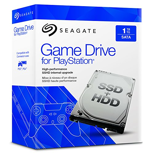 """Seagate STBD1000101 Disque Dur Interne 1To SSHD 2.5"""" pour Playstation 3/4"""