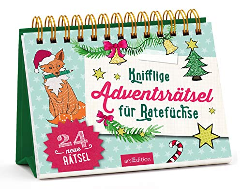 Knifflige Adventsrätsel für Ratefüchse: Adventskalender
