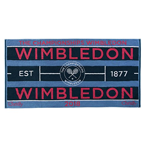 Wimbledon 2018 on Court Damen Tennis Handtuch von Christy Uk 132 Jahre Wimbledon