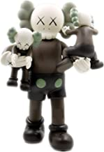 Margoth 16 inch KAWS with Kids Dissected Companion Original Fake Art Toys Action Figure Figurine Plush Doll Toy Model Statue Accessories Collection Morden Gift with Retail Box (Brown)