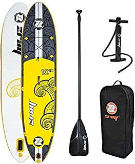 zray X2 All Around Inflatable Stand Up Paddle Board, 10'10