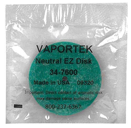 Vaportek Easy Disk Neutral - Duftstein für Vaportronic, Easy Twist, Compact Lufterfrischer - Geruchsvertilger, Geruchsneutralisator, Geruchseliminator EZ-Disk (12, 1)