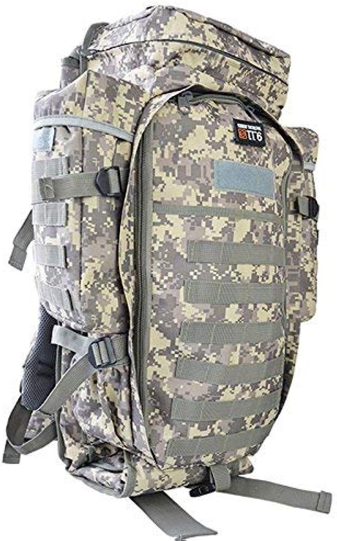Lounayy Unisex Wasserdicht Wandern Rucksack Stylisch Erwachsene Outdoor Oxford Mode Tuch Mehrzweck Paket Camping Tasche (Farbe   ACU Digital, Größe   One Größe)