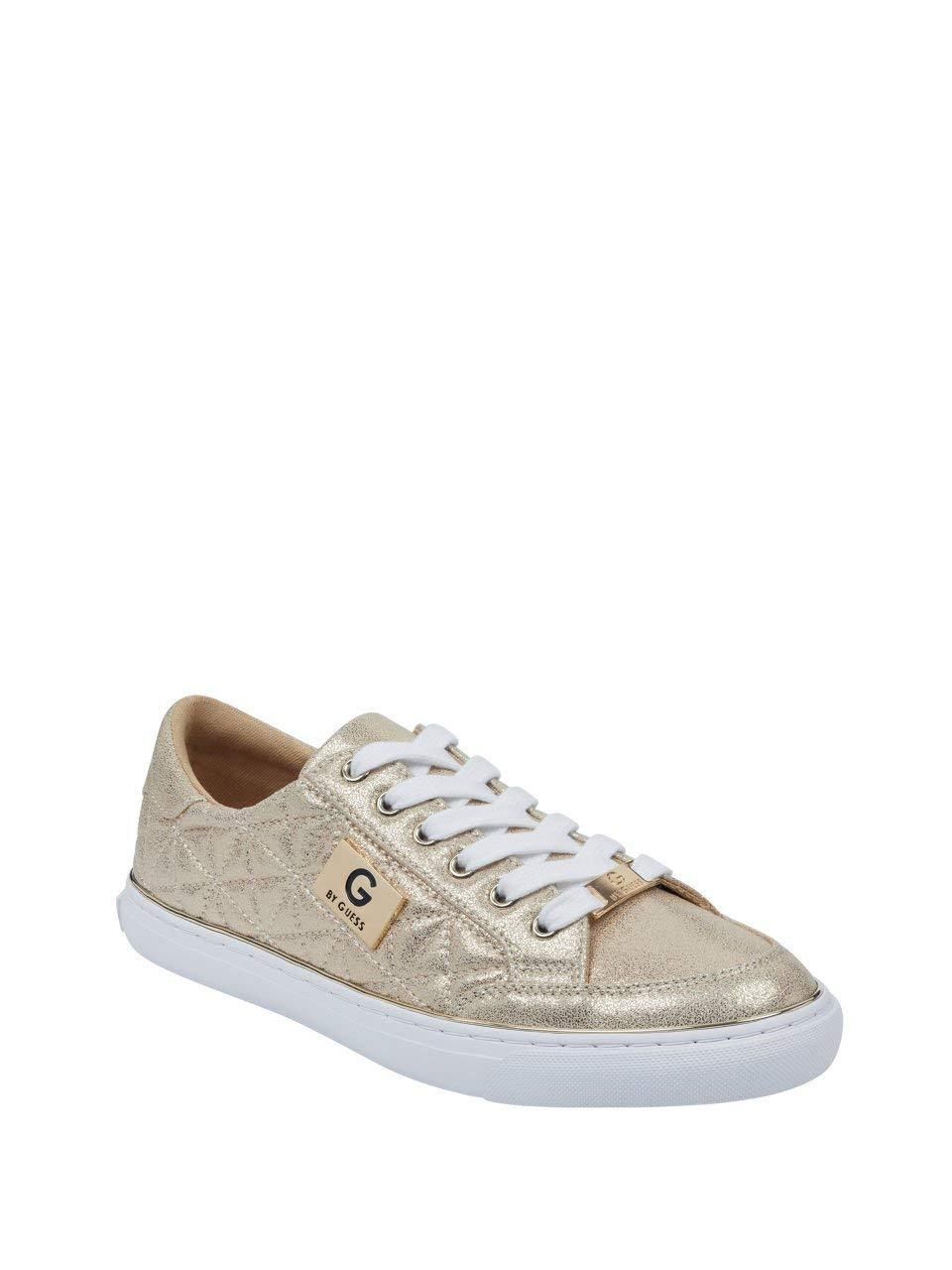GUESS Womens Omerica Quilted Sneakers