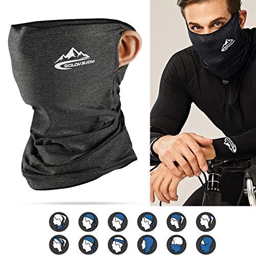 BACIVIC Herren/Damen Bandana Halstuch Schlauchtuch, Multifunktionstuch Atmungsaktiv UV-Beständig Weich Gesichtsmaske Verschleißfest Schlauchschal Halstuch für Motorrad Laufen Wandern