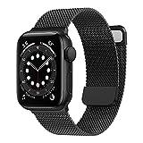 Younsea Correa Compatible con Apple Watch 38mm 40mm 41mm 42mm 44mm 45mm, Correa de Metal de acero Inoxidable con Imán Adecuada para iWatch Serie 7/SE/6/5/4/3/2/1