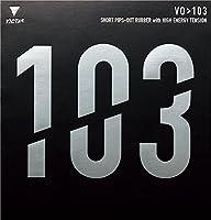 VICTAS(ヴィクタス) 卓球 表ソフトラバー VO103 ブラック 020242 MAX