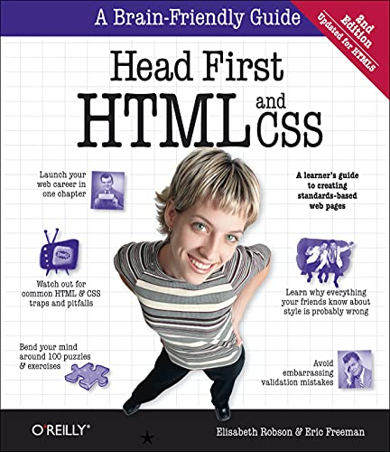 Head First: HTML and CSS: A Learner's Guide to Creating Standards-Based Web Pages