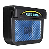 Uniqus Solar Power Car Window Auto Air Vent Cool Fan Cooler Ventilation System