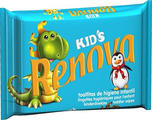 Renova Toallitas higiénicas infantiles Kids Recarga - 240 toallitas - 6 packs de 40 unidades