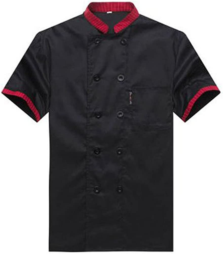 Nanxson Unisex 5 ☆ very popular Men's Chef Jacket Short Uniform Sleeved Coat All items in the store
