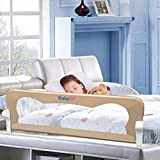 Bed Rail for Toddlers - BabyElf 47 inches (1.2M) Swing Down Bedrail Guard