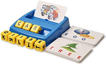 Matching Letter Dices and Cards - English Learning Game for Preschoolers