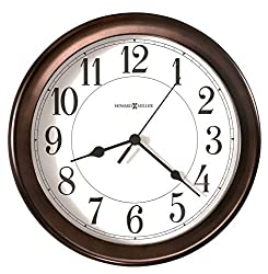 bronze 8th anniversary gift ideas for him - bronze wall clock