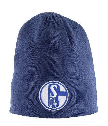 FC Schalke 04 omkeerbare muts koningsblauw/navy