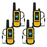 DEWALT DXFRS800 2 Watt Heavy Duty Walkie Talkies with Headsets - Waterproof,...