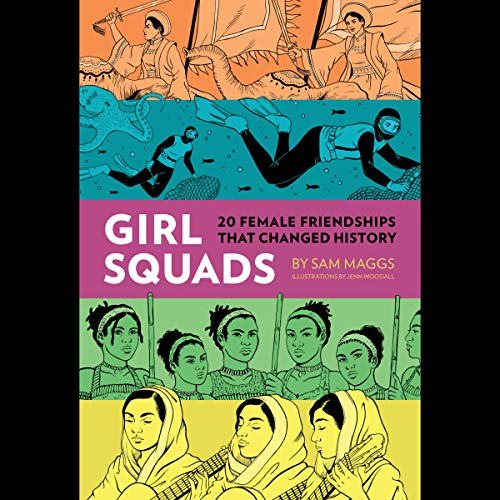 Girl Squads  audiobook cover art