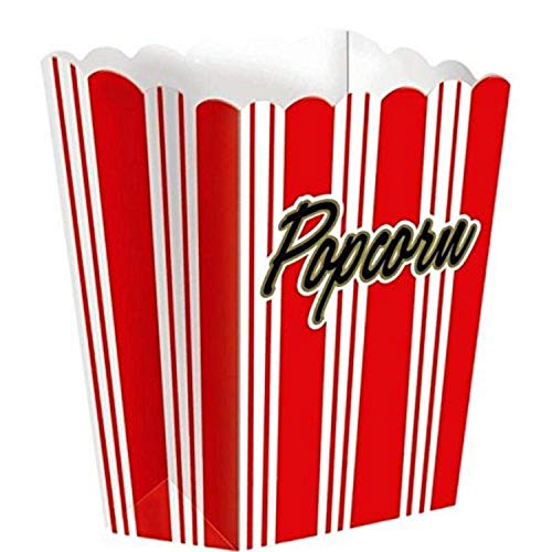 Great Price! Amscan Large Popcorn Party Box, 7 x 5 | 1 piece