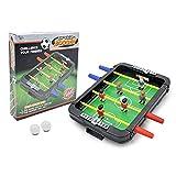 FZYE Futbolín de Mesa para niños, Mini Juego de fútbol de Mesa con 2 Bolas, futbolín Familiar, Juguete Educativo, Juegos de Mesa Arcade