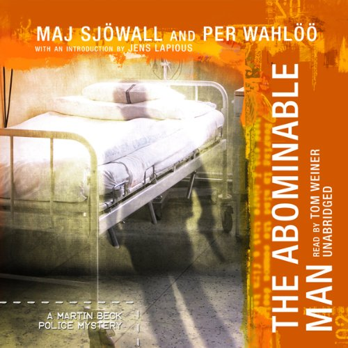The Abominable Man     A Martin Beck Police Mystery              By:                                                                                                                                 Maj Sjöwall,                                                                                        Per Wahlöö                               Narrated by:                                                                                                                                 Tom Weiner                      Length: 5 hrs and 29 mins     79 ratings     Overall 4.2