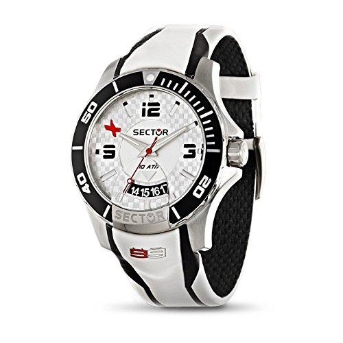 Sector Reloj analogico para Hombre de Cuarzo con Correa en Piel R3251577001
