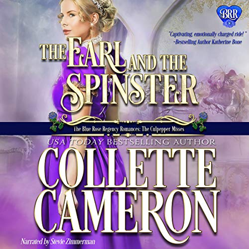 The Earl and the Spinster audiobook cover art