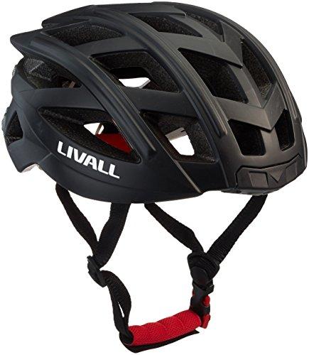 LIVALL, BH 60,Casco per Bicicletta, Unisex, GC-BH60, Nero, 55-61 cm (One Size)
