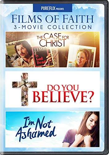 Films of Faith 3-Movie Collection (The Case for Christ / Do You Believe? / I'm Not Ashamed) - DVD