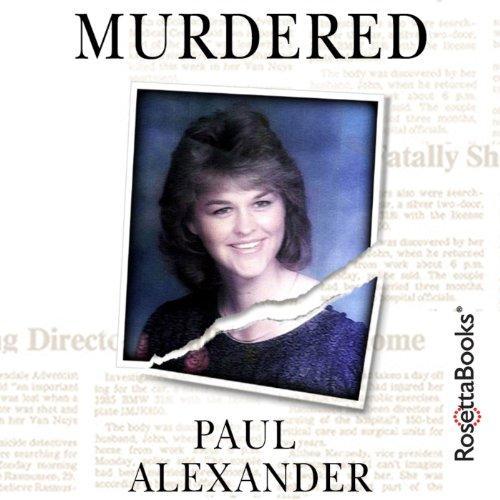 Murdered audiobook cover art