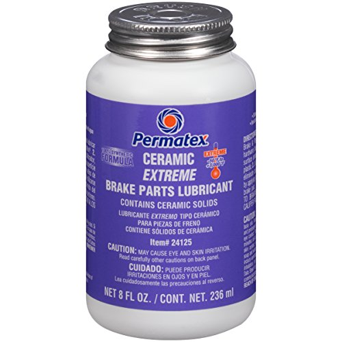 Permatex 24125 Ceramic Extreme Brake Parts Lubricant, 8 oz., Pack of 1