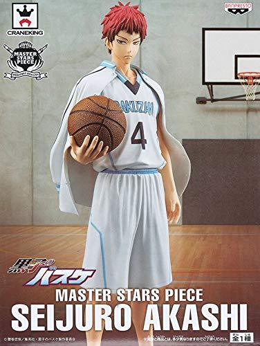 『黒子のバスケ MASTER STARS PIECE SEIJURO AKASHI 赤司征十郎 外箱高約20cm フィギュア』のトップ画像
