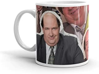 Tyna Ho The Office Kevin Malone - Brian Baumgartner Mugs Made Of Durable Ceramic With An Easy Grip Handle 11 Oz