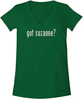 The Town Butler got Suzanne? - A Soft & Comfortable Women's V-Neck T-Shirt
