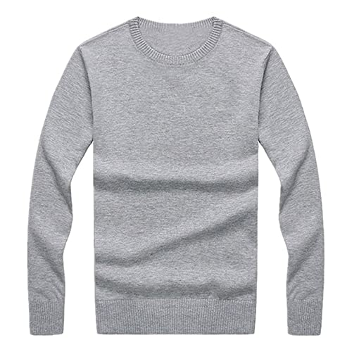 N\P Primavera y Otoño Color Sólido Casual Slim Cuello Redondo Pullover Bottoming Camisa
