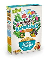 Toasted bean & rice crispies Natural ingredients, naturally delicious, super powdered by plants High in Fibre, a source of Iron & Protein & low in sugar, 1 bowl has under 3g sugar Certified organic by the Soil Association, certified Vegan by the Vega...