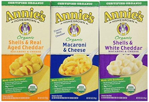 Annies Home Grown Organic Mac & Cheese, 12Count
