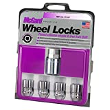 McGard 24154 Chrome Cone Seat Wheel Locks (M12 x 1.25 Thread Size) - Set of 4