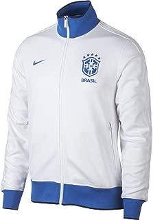 2019-2020 Brazil Authentic N98 Jacket (White)