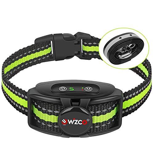 WIZCO Anti bark collar, New Antibark Collar for Large Medium Small Dog, Barking Control IPX67...