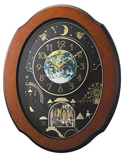 Rhythm Clocks 'Timecracker Cosmos' Magic Motion Clock